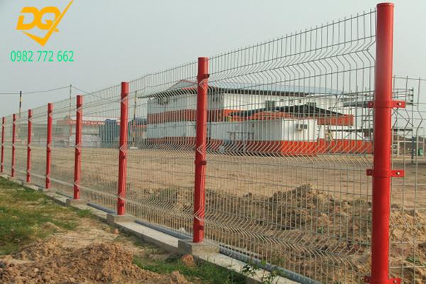 Mẫu hàng rào lưới thép b40 - 7