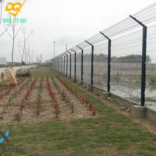 Mẫu hàng rào lưới thép b40 - 8