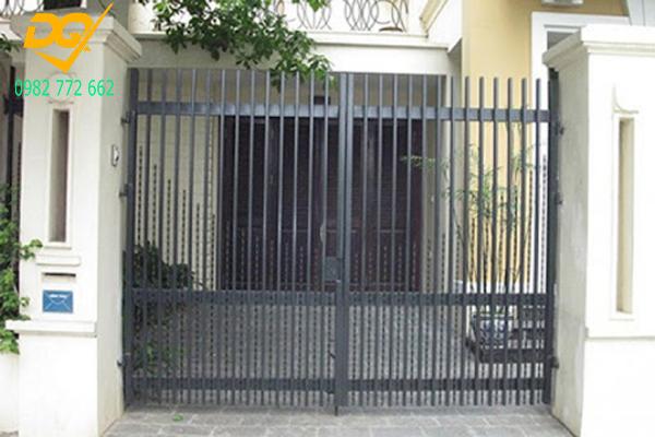 Mẫu cửa hàng rào sắt - 12