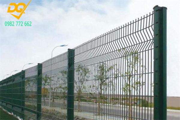 Mẫu hàng rào lưới thép b40 - 12