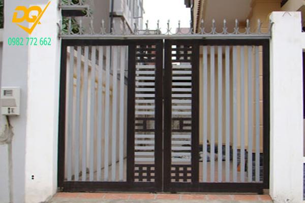Mẫu cửa hàng rào sắt - 13