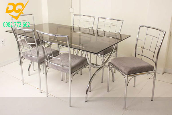 Mẫu bàn ghế Inox đẹp - 8
