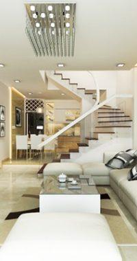 Cách hóa giải phong thủy nhà bếp nằm đối diện với cầu thang